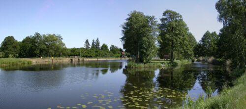 Schleuse Pinnow am Oranienburger Kanal