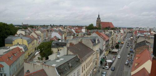 Brandenburg an der Havel von der Aussichtsplattform des Steintorturmes